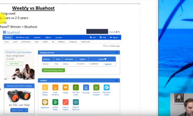 Weebly vs Bluehost Hosting Comparison
